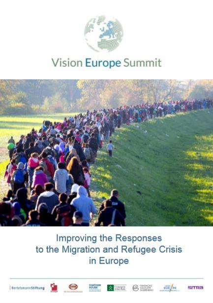 Vision Europe Summit, Calouste Gulbenkian Foundation, Improving the Responses to the Migration and Refugee Crisis in Europe
