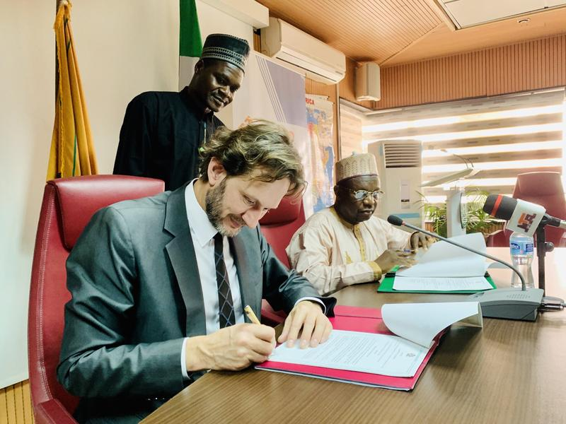Signing of a Seat Agreement between the Government of the Federal Republic of Nigeria and ICMPD